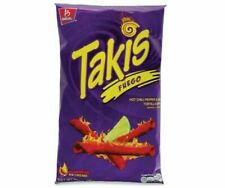 Takis Fuego Hot Chili Pepper & Lime Tortilla Chips King Size 280g bag- Box Pack