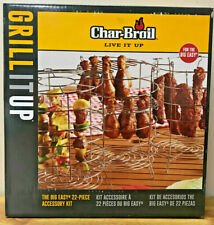 CHAR-BROIL THE BIG EASY 22-PC POULTRY, KABOB, RIBS FRYER ACCESSORY KIT