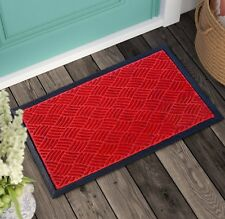 Doormat Non-Slip Indoor/Outdoor Synthetic Recycled Mat for Entrance/front/patio