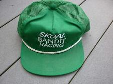 Vintage 80's Deadstock Skoal Bandit Racing Trucker Snapback Hat Cap Tobacco