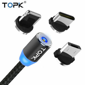 USB Charging Charger Led cable For Samsung Galaxy S8 S9 & S8 S9 Plus Note 8 9