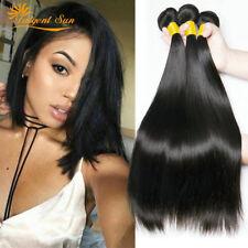 Brazilian straight Hair 3 Bundles 300g Virgin weave Hnman Hair 100%Extensions 9a