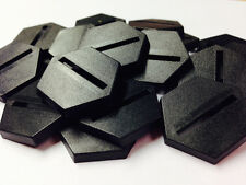 Bases BNIB 25mm Hexagonal Slotted x 20  20BASE25HX