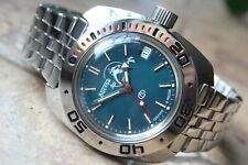 Reloj de pulsera automático mecánico ruso VOSTOK AMPHIBIAN DIVER 710059