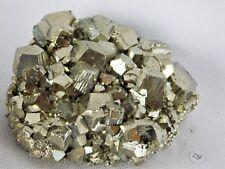 28) Pyrite Crystal Cubes - Fools Gold Iron Great Gift - HIGH GRADE PERU -
