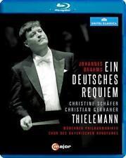 Bluray I Brahms Ein deutsches Requiem  Gerhaher,Mp,Thielemann,Schäfer (2015) NEU