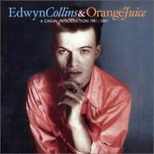 EDWYN COLLINS & ORANGE JUICE A Casual Introduction 1981 2001 RARE OUT OF PRINT