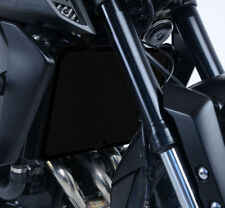 R&G Black Radiator Guard for Yamaha Tracer 900 GT 2018 to 2019