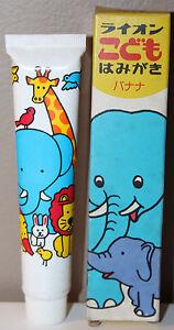 Lion Jr Banana Dental Toothpaste Expired Japanese Film Movie Prop 50 gram