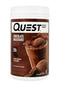 Quest Nutrition Chocolate Milkshake Powder 22g Protein 1.6 Lbs 05/2021