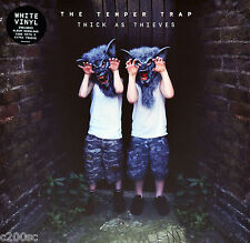 THE TEMPER TRAP - THICK AS THIEVES, ORG 2016 EU WHITE vinyl LP + DOWNLOAD, NEW!