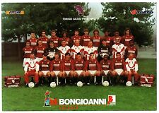 Cartoncino Squadra Torino Calcio 1994/95 cm 16,8 x 24 (Retro Autografi Stampati)