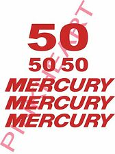 mercury outboard decal kit 50 hp decal stickers USA