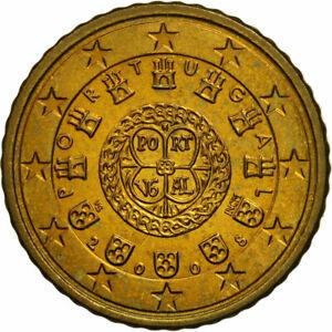 [#461421] Portugal, 50 Euro Cent, 2008, SPL, Laiton, KM:765