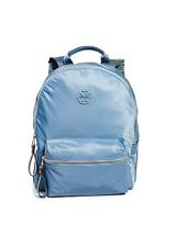 Tory Burch NEW Tilda Zip Light Blue Yonder Nylon Backpack Bookbag $228