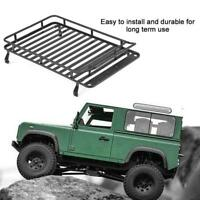 Metal Roof Rack Luggage Carrier for D90 / Axial SCX10 Jeep RC Crawler Car Parts