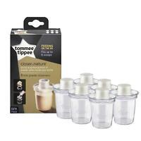 Tommee Tippee Milk Powder Dispensers Pack Of 6 Baby Travel MILK Storage *New*