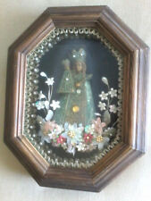 VINTAGE BLACK MADONNA OF BAVARIA PRIESTS WALL ALTAR ICON PLAQUE