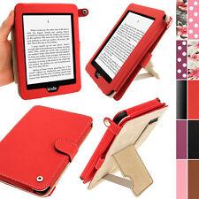 """Rouge PU Étui Housse Case en Cuir pour Amazon Kindle PaperWhite 3G 6"""" Wi-Fi 2GB"""