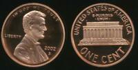 United States, 2002-S One Cent, 1c, Lincoln Memorial - Proof