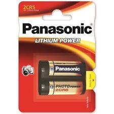 2 x 2CR5 Panasonic 6V Lithium Battery digital camera DL245 2CR5R