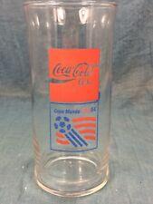 Rare Vintage 1994 Coca Cola Glass Tumbler World Cup Copa Mundo