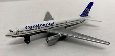 Continental Airlines Diecast Airplane Boeing 777 200 MATTEL MATCHBOX 2005