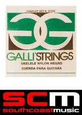 Galli G216 Ukulele Black Nylon Uke Strings