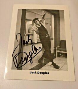 JACK DOUGLAS AUTHENTIC  SIGNED PHOTO RARE CARRY ON MATRON