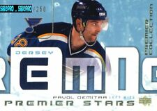 UD PREMIER COLLECTION 2003 PAVOL DEMITRA ST. LOUIS BLUES STARS GAME JERSEY /250