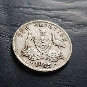 1925 australia Shilling  nice!..#0103