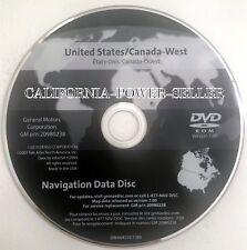 2005-2013 Chevy Corvette Cadillac STS Saab 9-5 Navigation DVD Version 7.00 WEST