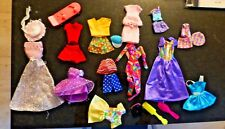 Lot several Barbie outfits and accessories preowned Fs