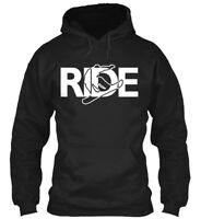 Ride Snowboard S And - Gildan Hoodie Sweatshirt
