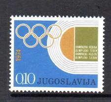YUGOSLAVIA MNH 1974 SG1611 OBLIGATORY TAX. OLYMPIC GAMES FUND