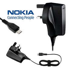 Original Nokia 5630 6500 8800 C6-01 E7 E72 E75 N97 Micro USB Mains Charger AC-6X