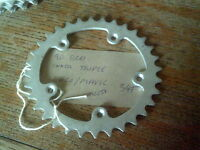 NOS 34 TOOTH 90BCD MAVIC / EDCO TRIPLE INNER ALLOY CHAINRING