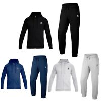 Mens XXR Fleec jogging suit Full Tracksuit Zipper Sweat Shirt Bottoms Top Fleece