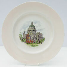 VINTAGE Shelley piatto FINE PORCELLANA CINESE ROSA St Paul'S CATHEDRAL