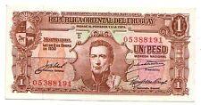 Uruguay  1 peso 1939     FDS  UNC  pick 35 c    lotto 3264