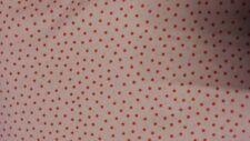 Cath kidston ikea Rosala rose pointillée shabby chic tissu 100% coton ppm *