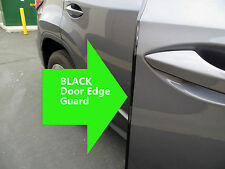 4pcs BLACK Door Edge Guard Trim Molding Protector Kit- chevyX#1