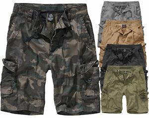 Brandit Men's Cargo Shorts Knee Length Shorts Summer Bermuda Ty-Shorts