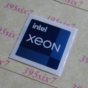 intel XEON 11th Gen Sticker - (18mm x 18mm) / (14mm x 14mm)