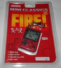 *VINTAGE 1998 NINTENDO MINI CLASSICS FIRE LCD HANDHELD GAME & WATCH SEALED/NOS*