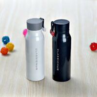 Classicmug Stainless Steel Insulated Sports Water Bottle , 12 oz  Black or White