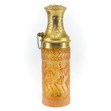 Rene R Lalique Enameled Art Glass Atomizer Perfume La Parisien Brevete SDGD S