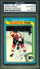 1979-80 OPC HOCKEY 178 ANDRE DUPONT FLYERS EXNM AUTOGRAPH AUTO PSA DNA CERTIFIED