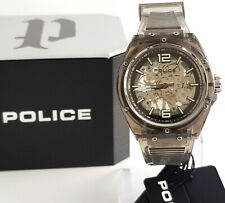Police Uhr Herrenuhr Automatik Translucent Neu PL.15924JPCL.48P Automatic grau