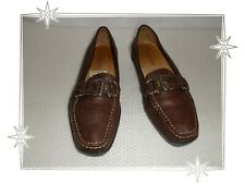 F - Chaussures Mocassins  Fantaisies  Marron    Geox Pointure 37
